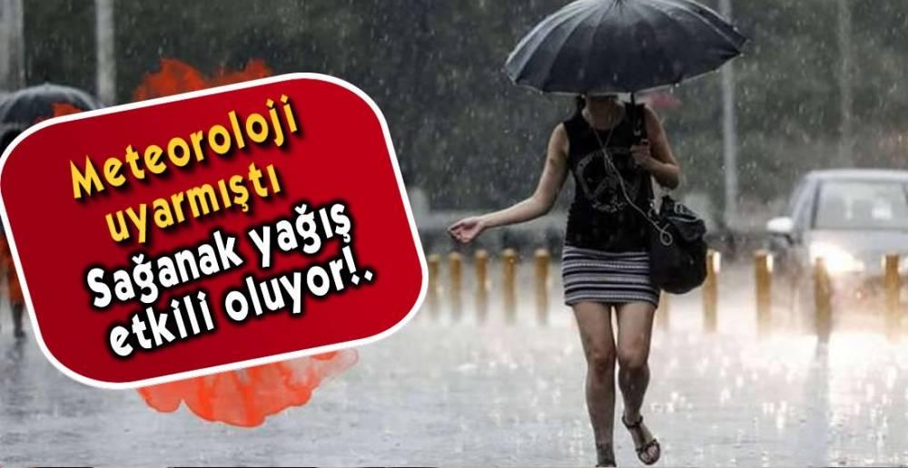 BEKLENEN YAĞIŞ GELDİ !.