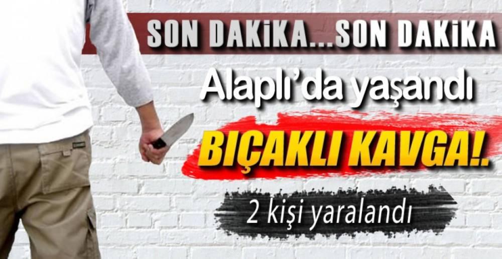 BIÇAKLI KAVGA !.