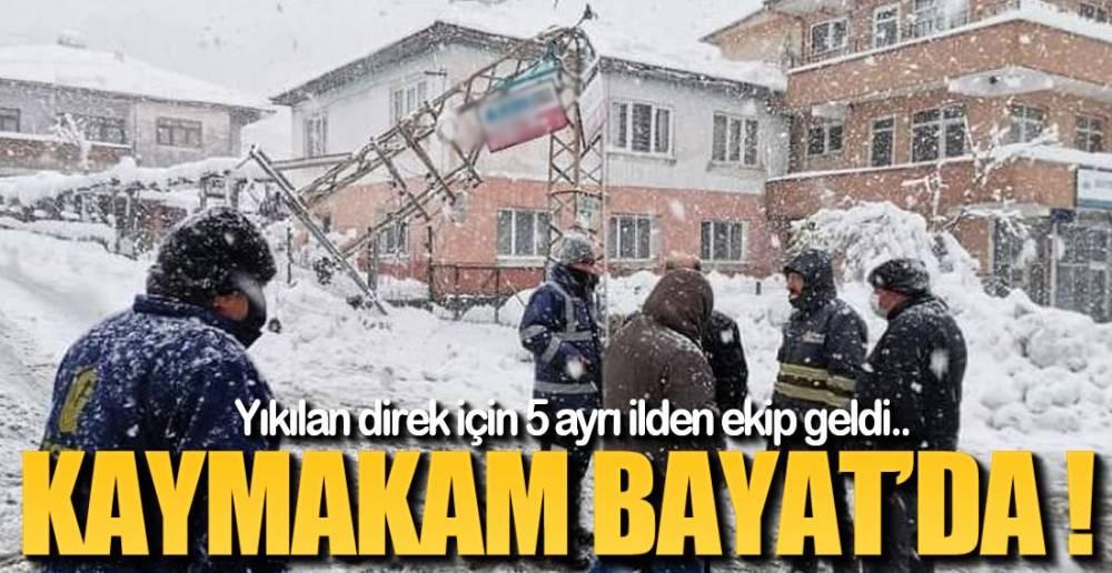 ÇALIŞMALAR BAŞLADI !.