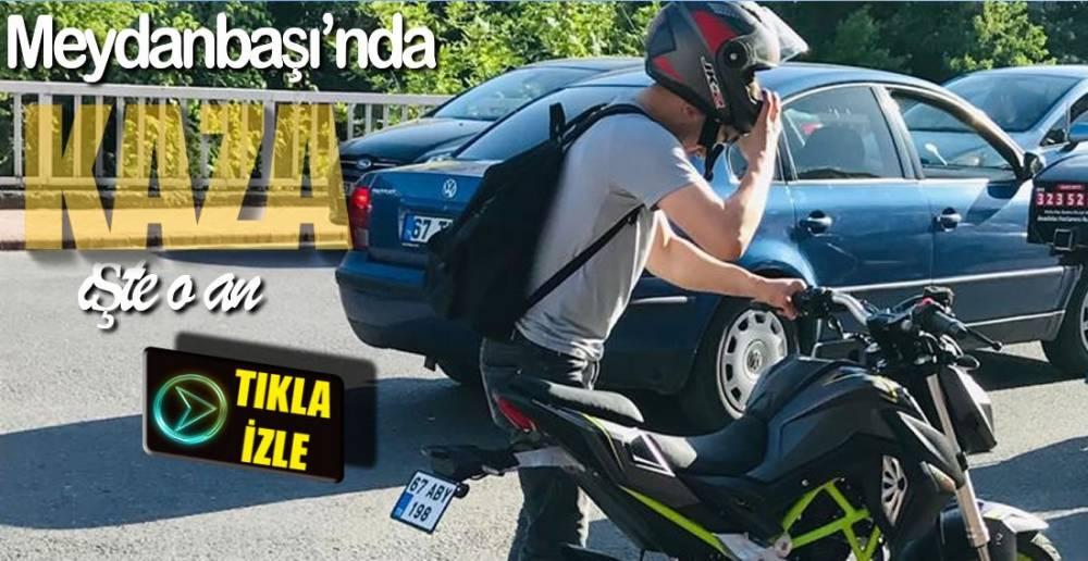 BİR MOTOSİKLET KAZASI DAHA !.