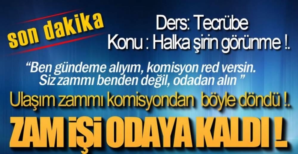 BİR ZAM HİKAYESİ !.