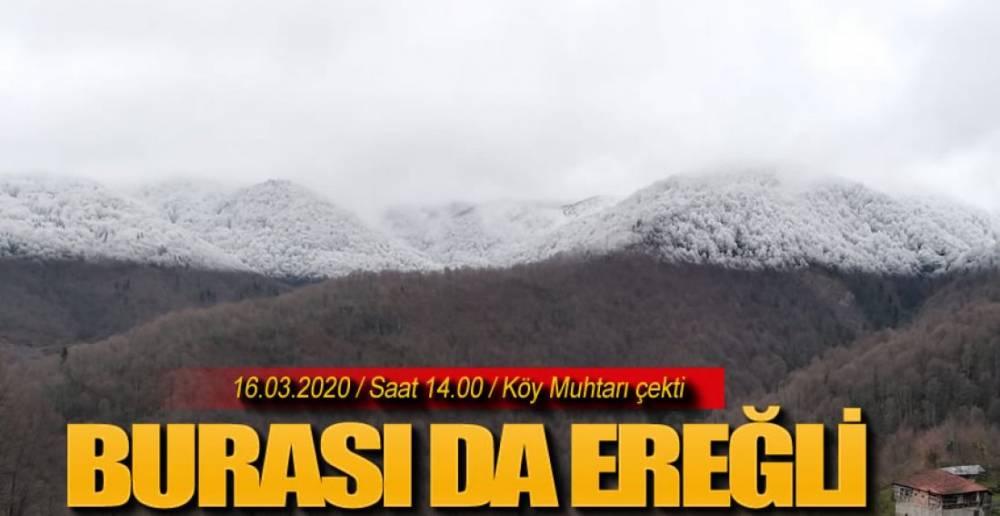 BU FOTOĞRAF AZ ÖNCE ÇEKİLDİ !.