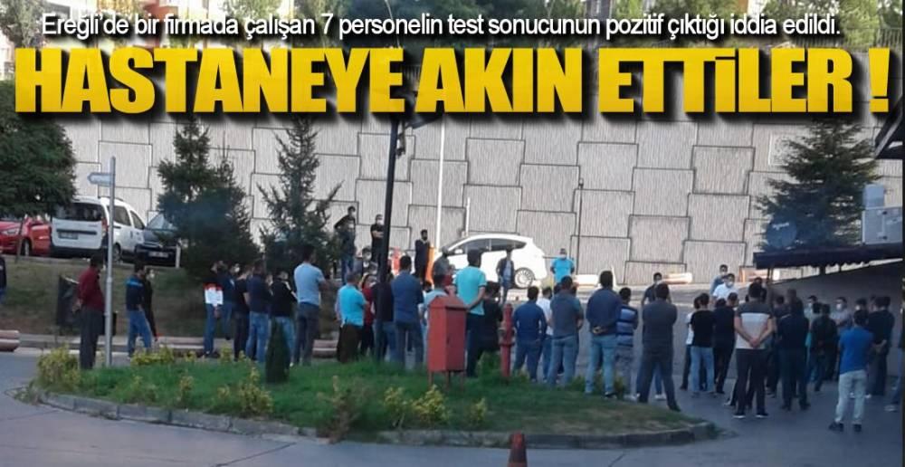 HASTANEYE AKIN ETTİLER!.