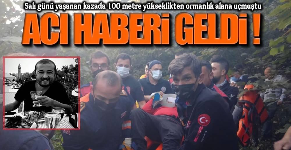 YAŞAM SAVAŞINI KAYBETTİ !.