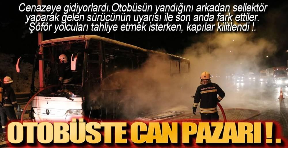 CENAZE DE OTOBÜSTEYDİ !.