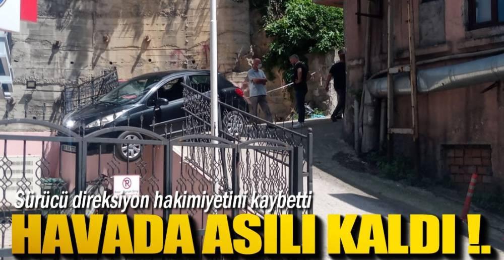 DEMİR PARMAKLIKLAR KURTARDI !.