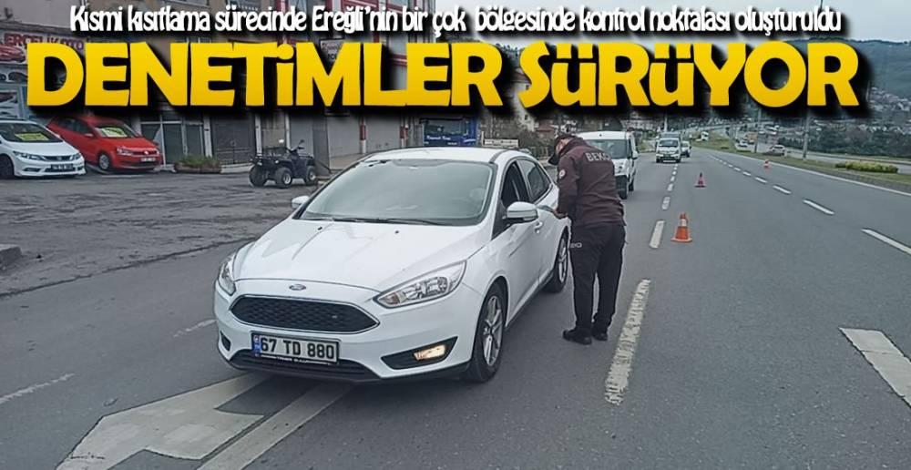 DENETİM NOKTALARI OLUŞTURULDU !.