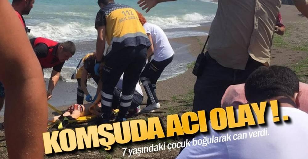 DENİZDE CAN PAZARI !.