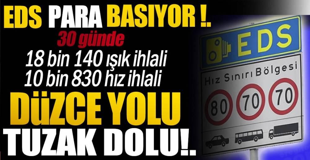 DÜZCE YOLUNA DİKKAT !.