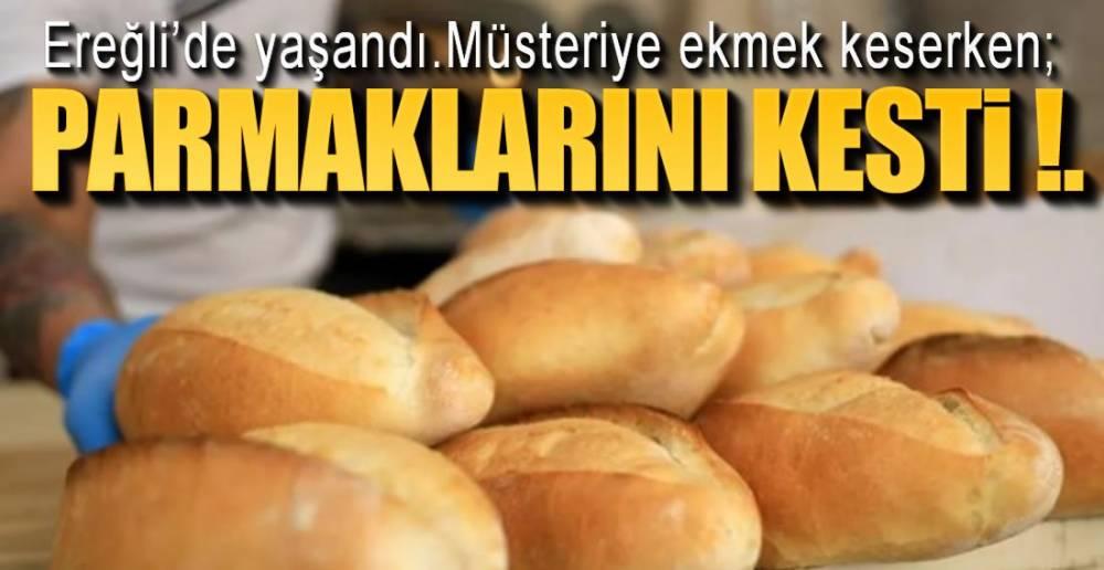 EKMEK FIRININDA İŞ KAZASI !.