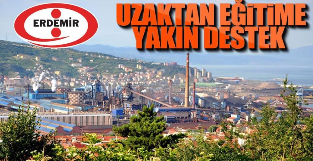 ERDEMİR'DEN EĞİTİME DESTEK !.