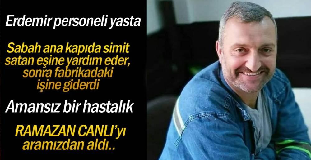 ERDEMİR PERSONELİ YASTA !.