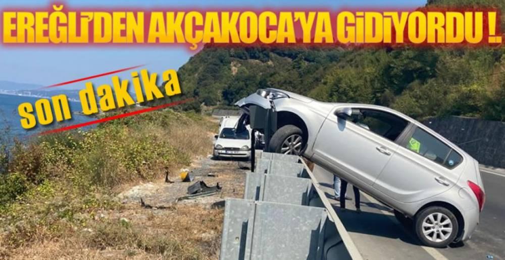 AKÇAKOCA YOLUNDA KAZA !.