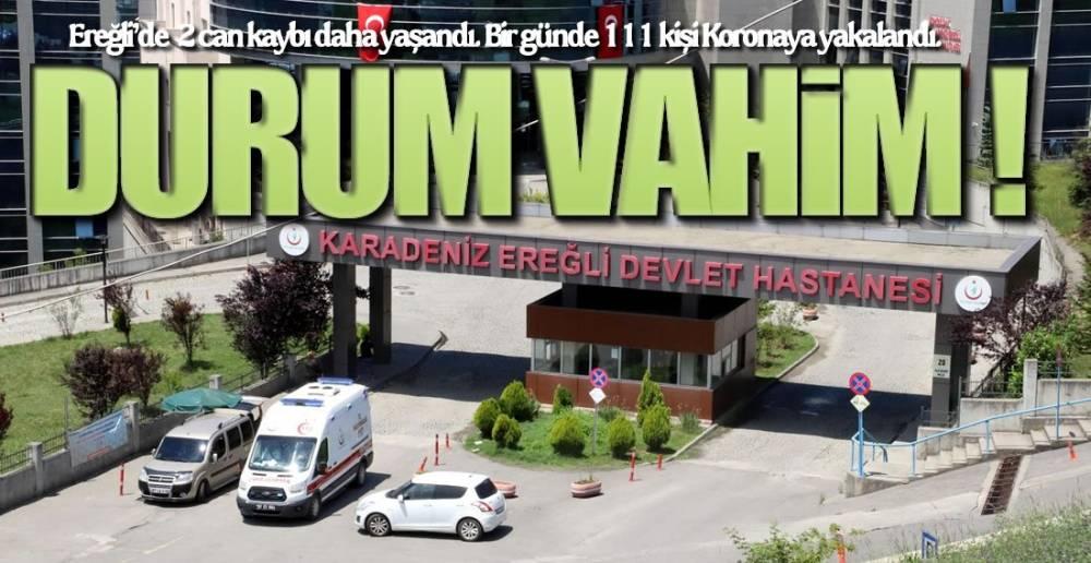 EREĞLİ ALARM VERİYOR !.