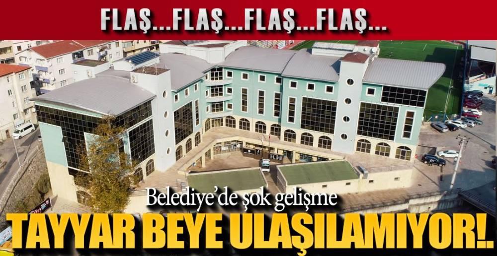 EREĞLİ BELEDİYESİNDE ŞOK GELİŞME !.