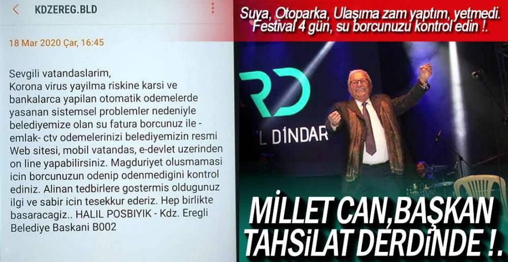 EREĞLİ BU MESAJI KONUŞUYOR !.
