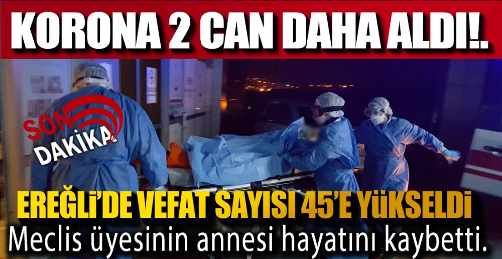 EREĞLİ'DE 2 CAN KAYBI DAHA !.