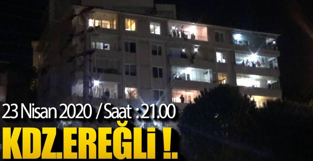 ACİL ÖNÜNDE İSTİKLAL MARŞI !.