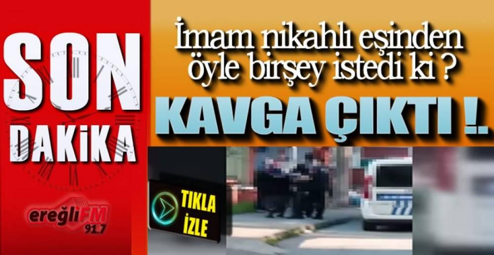 EREĞLİ'DE AKIL ALMAZ OLAY !.