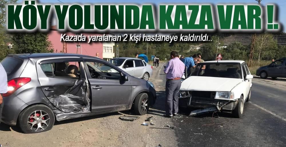 EREĞLİ'DE BİR KAZA HABERİ DAHA !.