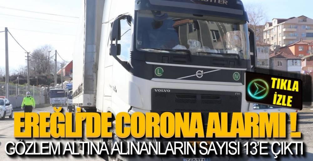 EREĞLİ'DE CORONA ALARMI!. İLK GÖRÜNTÜLER ....