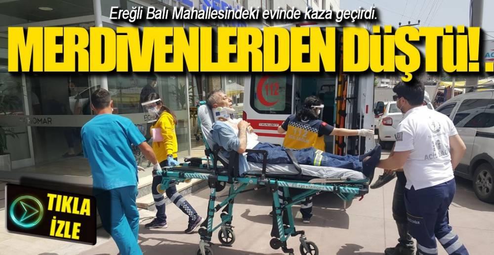 EREĞLİ'DE DÜŞEN DÜŞENE !.
