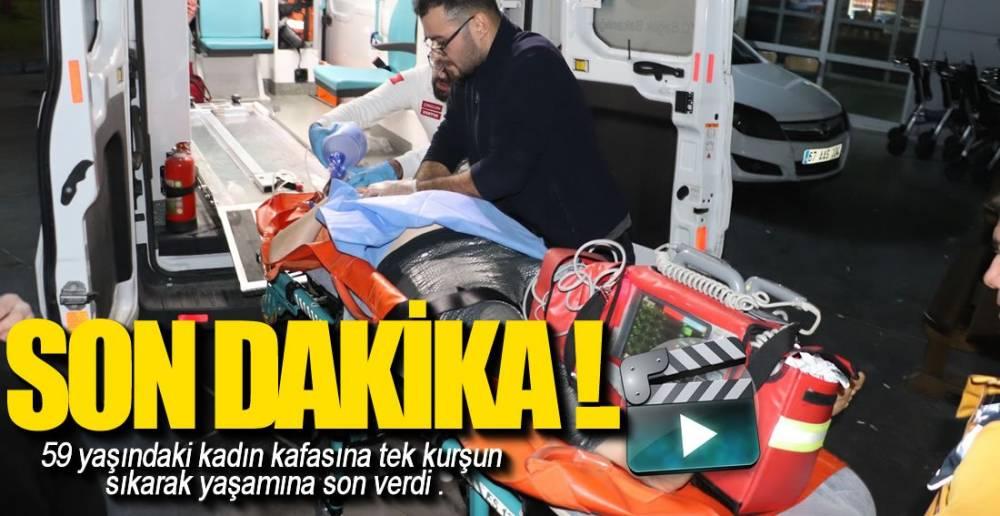 EREĞLİ'DE İNTİHAR !. OLAY YERİNDEN GÖRÜNTÜ VE FOTOĞRAFLAR..