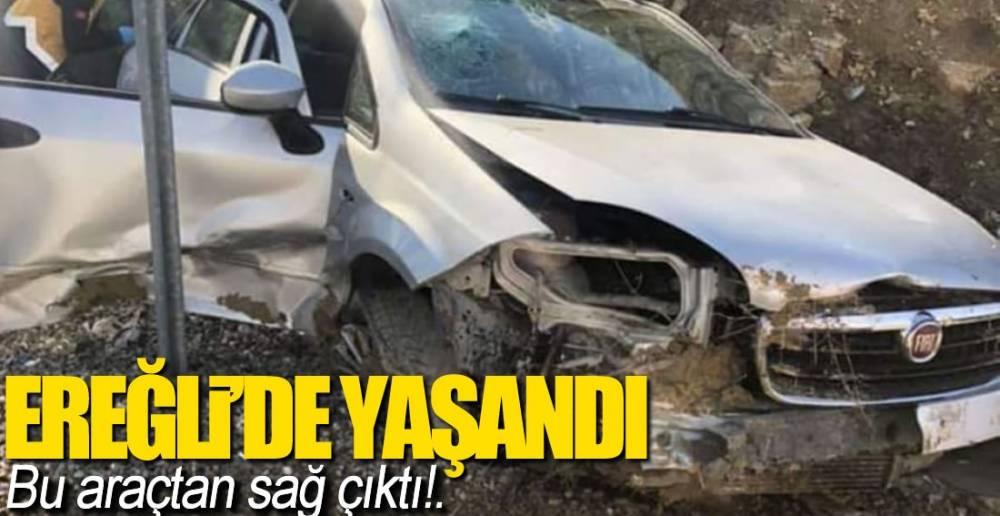 EREĞLİ'DE KAZA!.