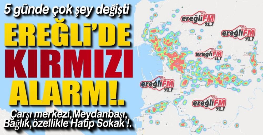 EREĞLİ'DE KIRMIZI ALARM !.