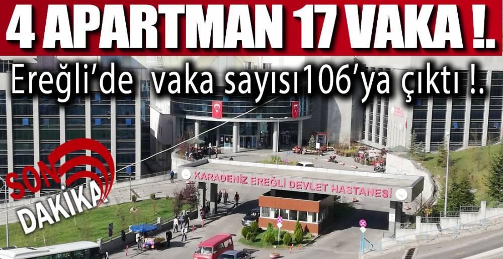 EREĞLİ'DE ŞOK ARTIŞ !.