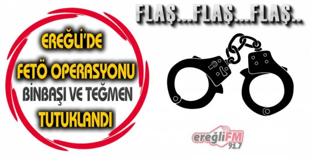 EREĞLİ'DE YAKALANDILAR !.