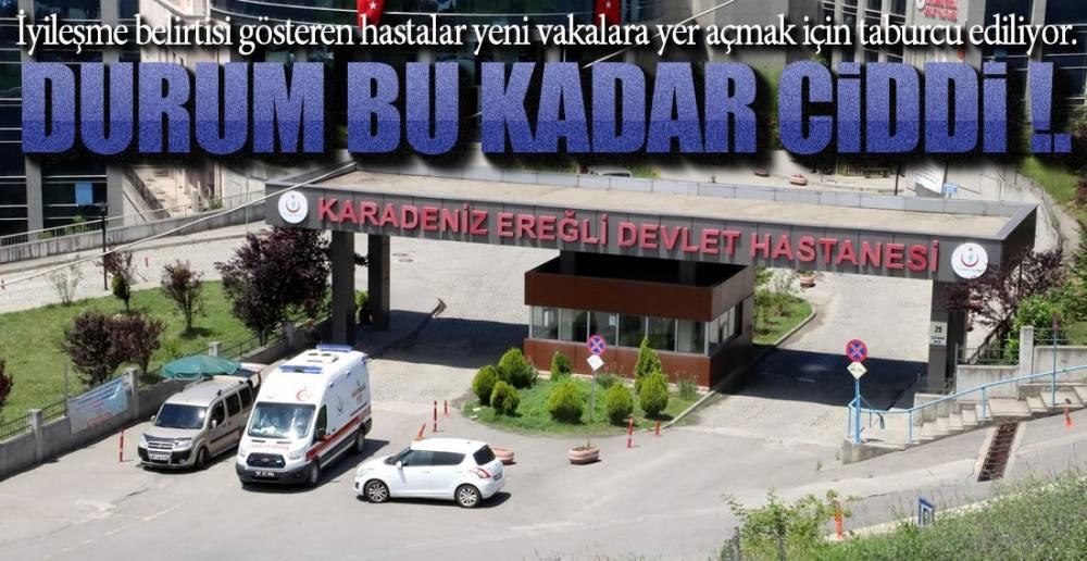 "EREĞLİ'DE  ""BOŞ YATAK"" TEDBİRİ !."