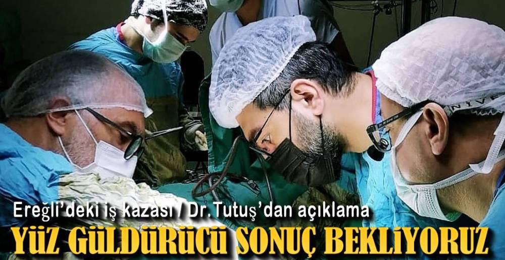 EREĞLİ'DEKİ İŞ KAZASI !.