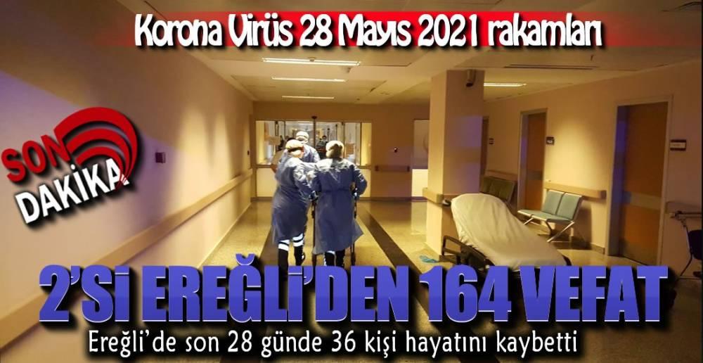 EREĞLİ'DEKİ VEFAT SAYISI 279'A ÇIKTI !.