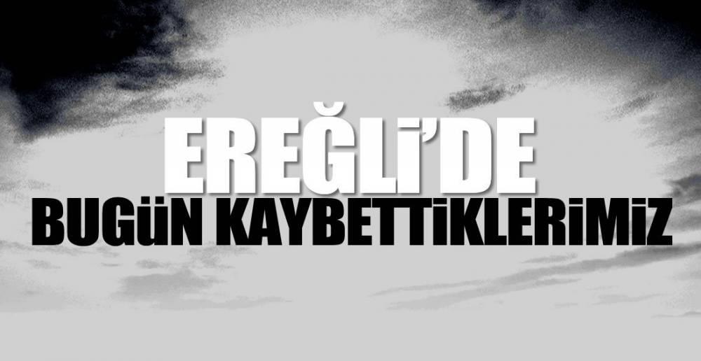EREĞLİ'DEN 4 ACI HABER !.