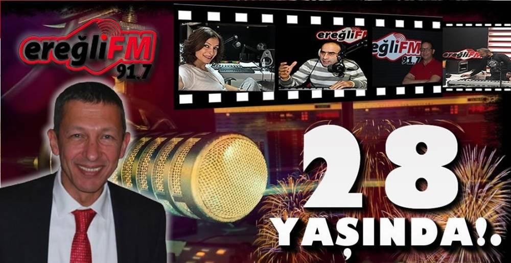 EREĞLİ FM 28 YAŞINDA ...