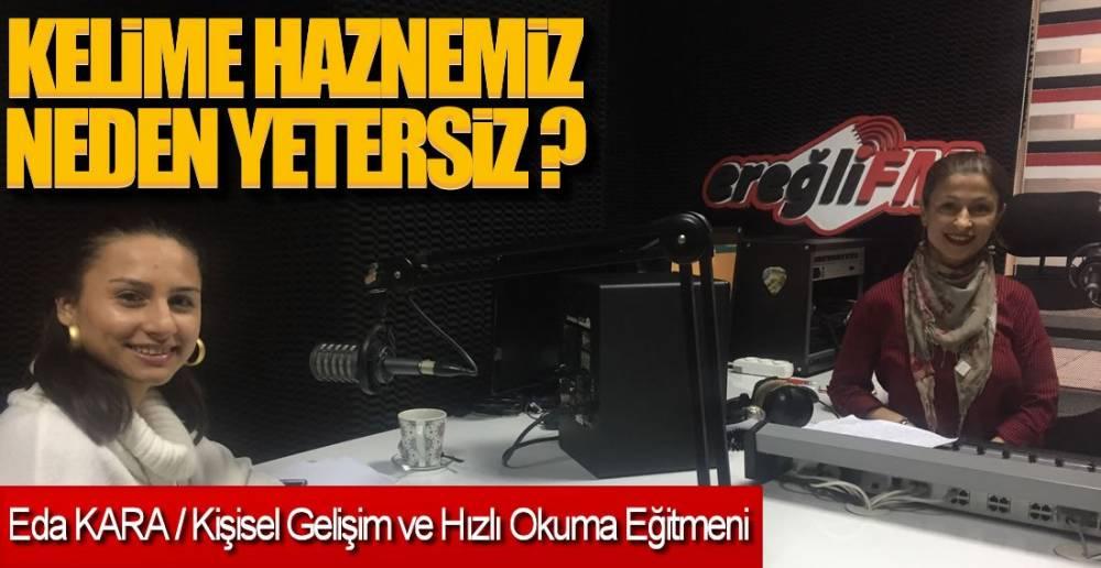 EREĞLİ FM'DE CANLI YAYIN