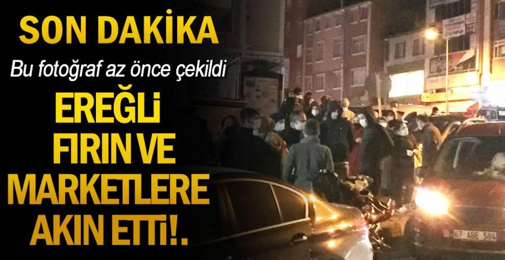 EREĞLİ SOKAKTA !.