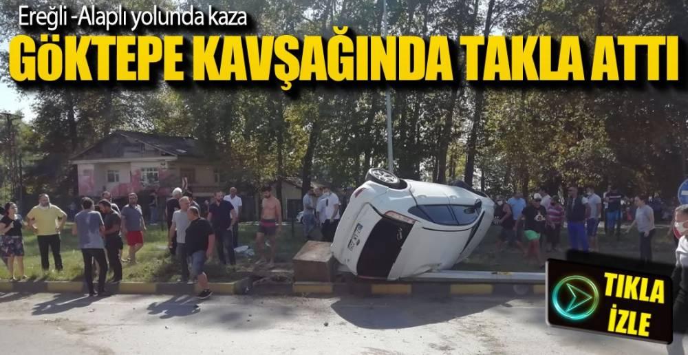 EREĞLİ'DE KAZA