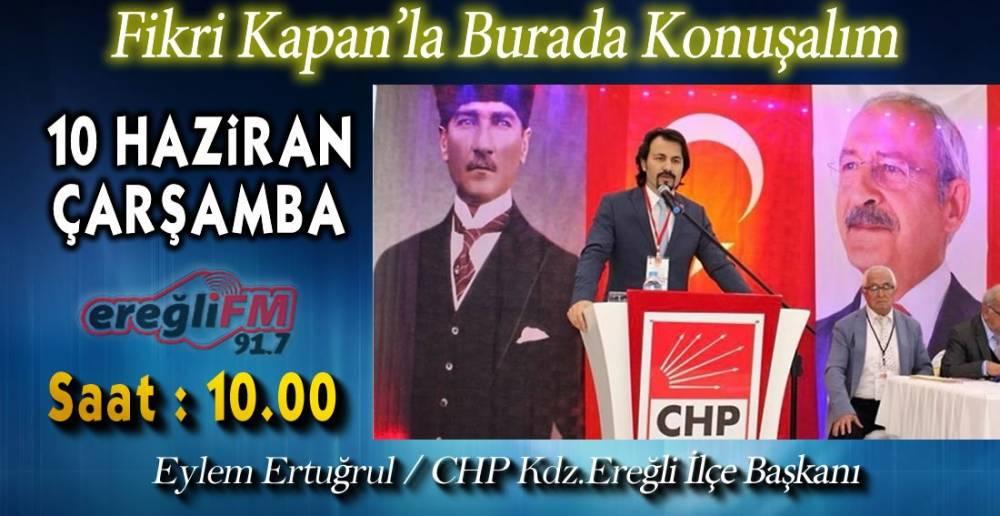 ERTUĞRUL EREĞLİ FM'DE KONUŞACAK! !.