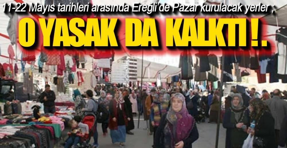 ESNAF BU HABERİ BEKLİYORDU !.