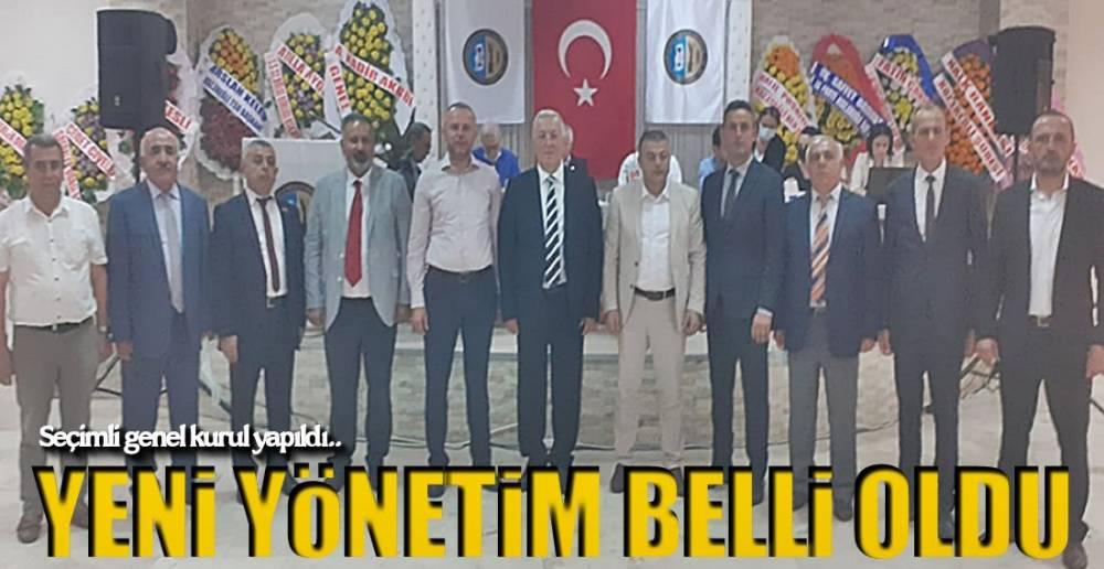 GENEL KURUL YAPILDI !.