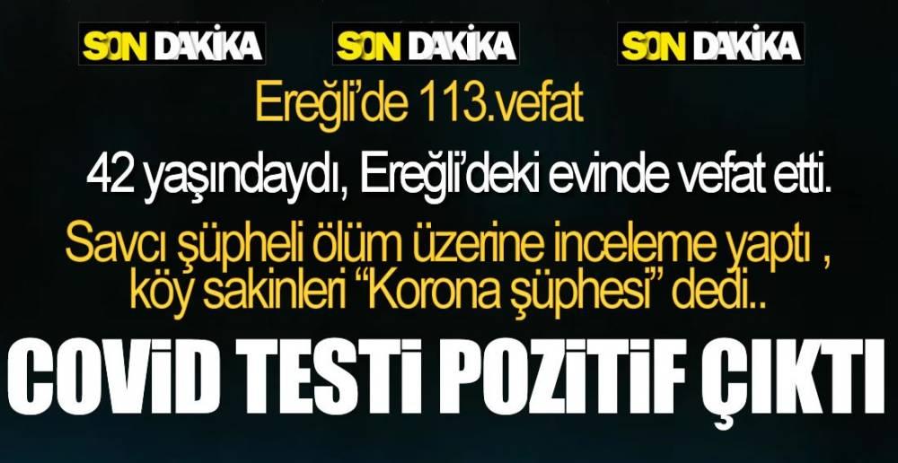 EVDE VEFAT ETTİ !.