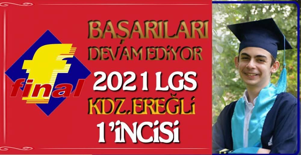 FİNAL LGS'DE 7 BİRİNCİLİK ELDE ETTİ !.