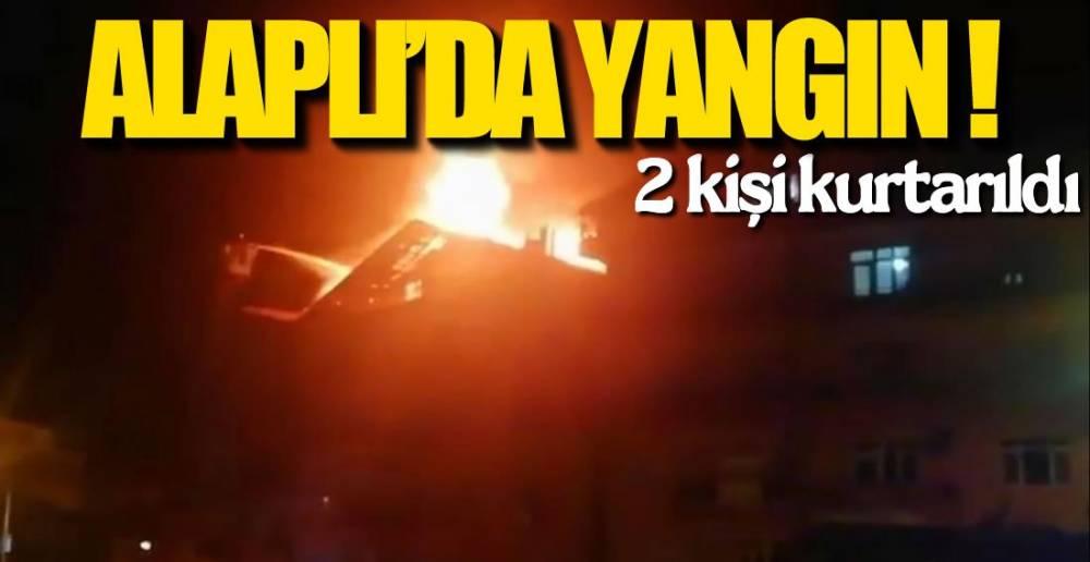 GECE YARISI YANGIN PANİĞİ !.