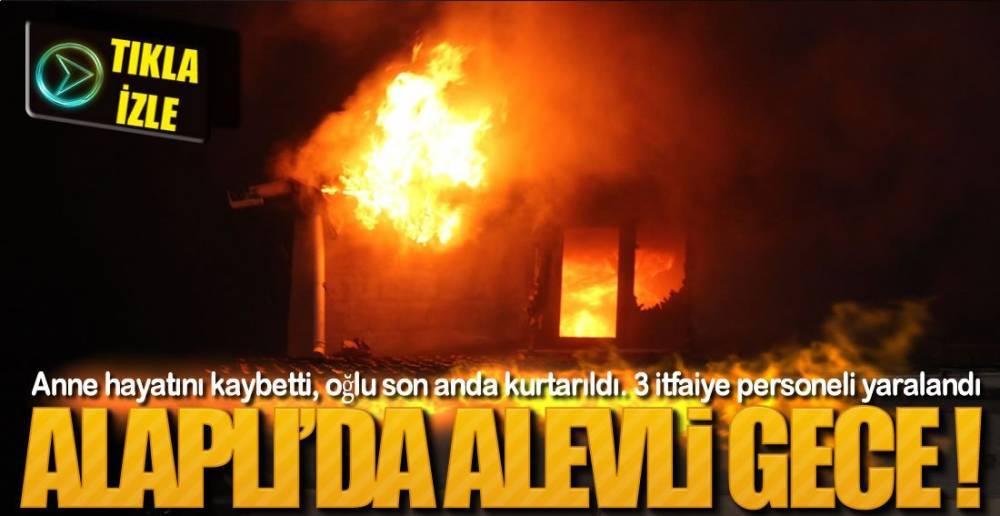 GECEYİ AYDINLATAN YANGIN !.