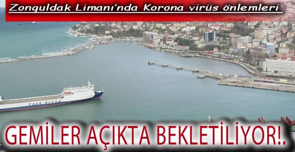 GEMİDE MUAYENE,ŞEHRE GİRİŞ YASAK !.