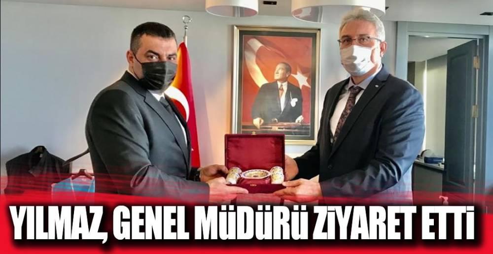 GENEL MÜDÜRÜ ZİYARET ETTİ !.
