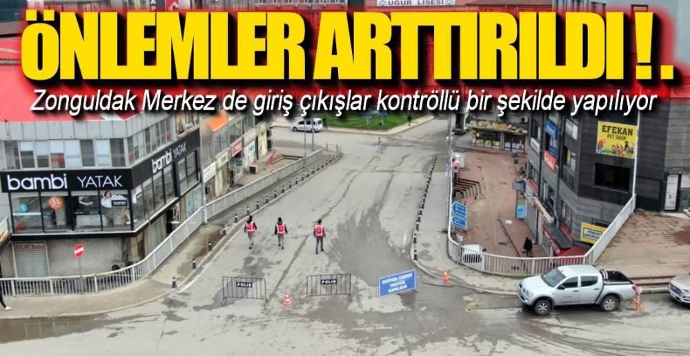 GİRİŞ VE ÇIKIŞLAR KONTROL ALTINDA !.
