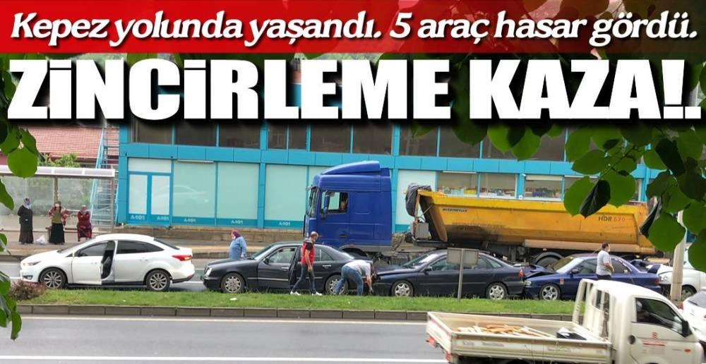 ZİNCİRLEME KAZA !.